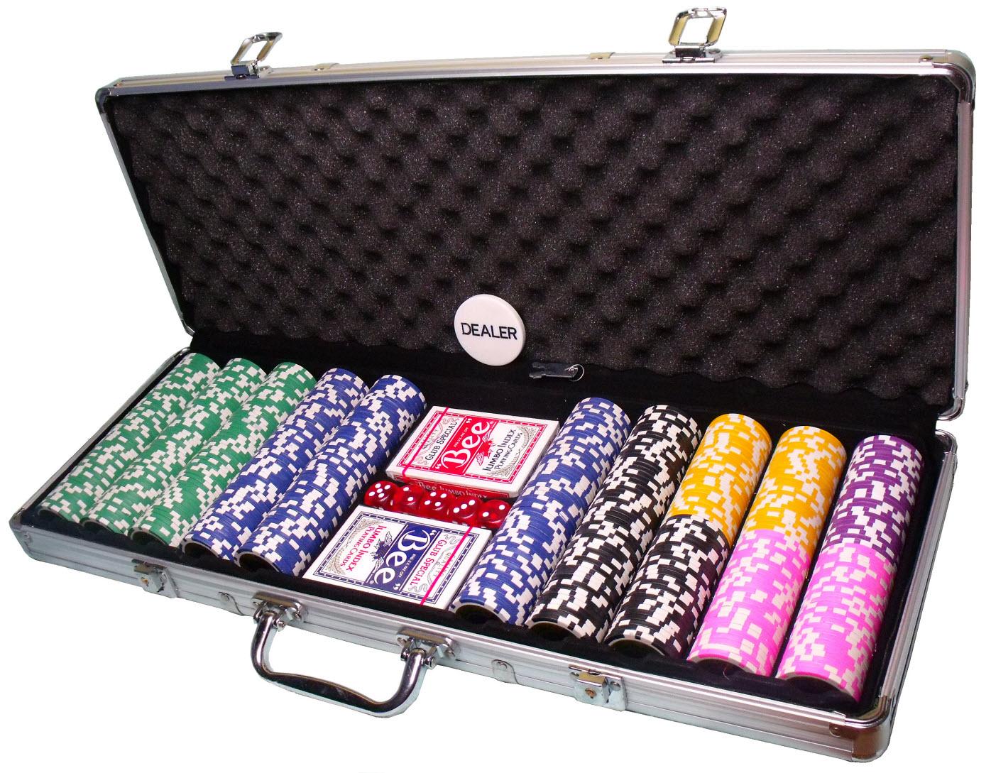 Набор для покера. подарок для азартных игроков