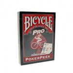 Карты Bicycle Pro PokerPeek - Red