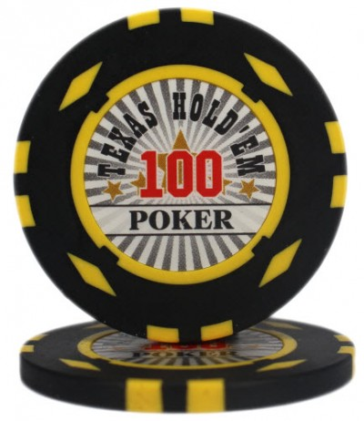 "Фишка ""Texas HoldEm Poker"" номинал 100"