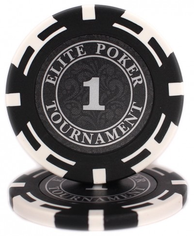 "Фишки ""Elite Poker Tournament"" значение 1"