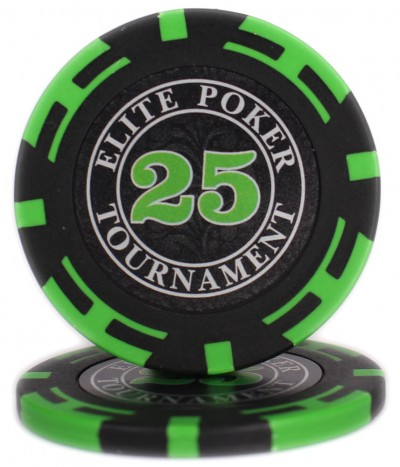 "Фішки ""Elite Poker Tournament"" вартість 25"