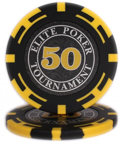 "Фишки ""Elite Poker Tournament"" номинал 50"