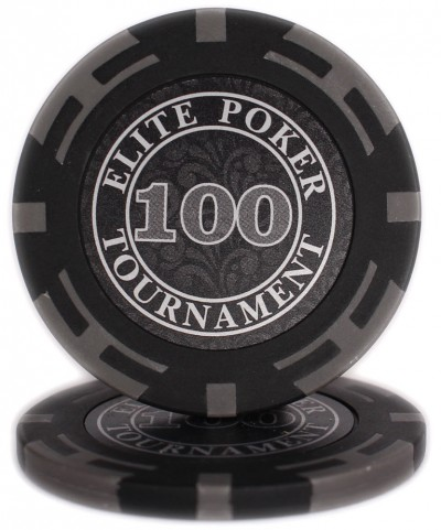 "Фішки ""Elite Poker Tournament"" цінність 100"