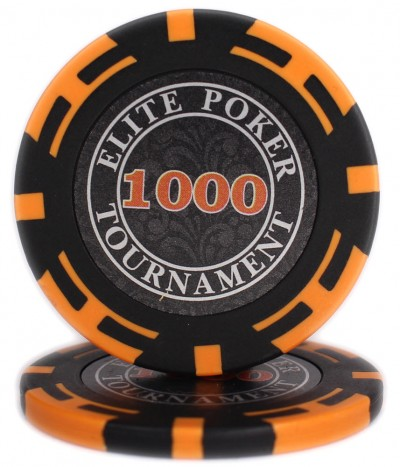 "Фішки ""Elite Poker Tournament"" з вартістю 1000"