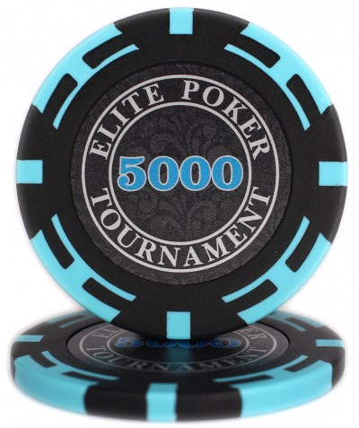 "Фішки ""Elite Poker Tournament"" цінові 5000"