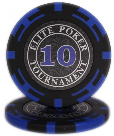 "Фішки ""Elite Poker Tournament"" цінові 10"